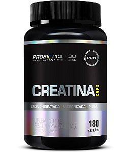 Creatina Caps - 180 cápsulas - Probiótica