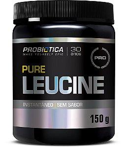 Pure Leucine - 150g - Sem sabor - Probiótica