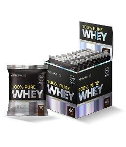 100% Pure Whey - 15 sachês - Chocolate - Probiótica