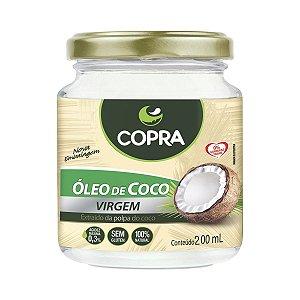 Óleo de Coco Virgem - 200 ml - Copra Alimentos