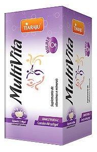 MultiVita Mulher - 60 cápsulas - Tiaraju