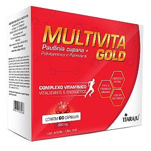Multivita Gold - 60 cápsulas - Tiaraju