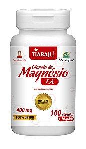 Cloreto de Magnésio P.A. - 100+10 cápsulas - Tiaraju