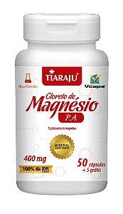 Cloreto de Magnésio P.A. - 50+5 cápsulas - Tiaraju