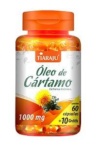 Óleo de Cártamo 1000mg - 60+10 cápsulas - Tiaraju