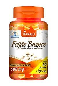 Feijão Branco com Picolinato de Cromo - 60+10 cápsulas - Tiaraju