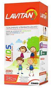 Kids Solução Oral - 240ml - Laranja - Lavitan Vitaminas