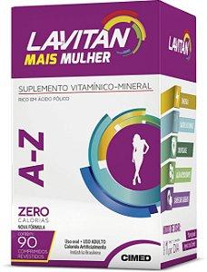 Mais A-Z Mulher - 90 comprimidos - Lavitan Vitaminas