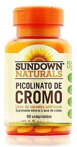 Picolinato de Cromo - 90 comprimidos - Sundown Naturals