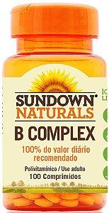 B Complex - 100 comprimidos - Sundown Naturals