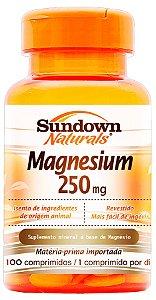 Magnesium 250mg - 100 comprimidos - Sundown Naturals