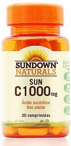 Sun C 1000mg - 30 comprimidos - Sundown Naturals