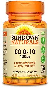 CoQ-10 100mg - 40 cápsulas - Sundown Naturals
