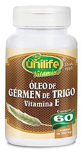 Óleo de Gérmen de Trigo - 60 cápsulas - Unilife Vitamins