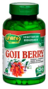 Goji Berry - 120 cápsulas - Unilife Vitamins