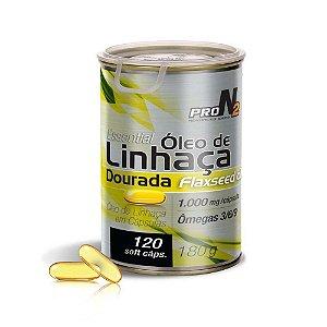 Essential Óleo de Linhaça Dourada - 120 cápsulas - ProN2