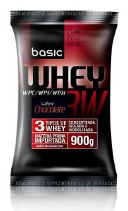 Whey 3W - Refil 900g - Chocolate - Basic Nutrition