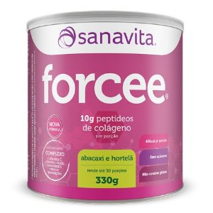 Forcee - 330g - Abacaxi e hortelã - Sanavita