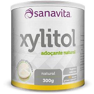 Xylitol Adoçante - 300g - Natural - Sanavita