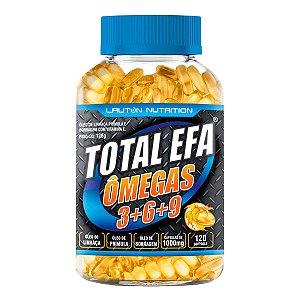 Total EFA (Ômegas 3+6+9) - 120 cápsulas - Lauton Nutrition