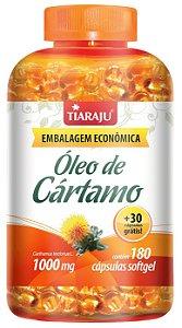 Óleo de Cártamo 1000mg - 180+30 cápsulas - Tiaraju