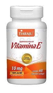 Vitamina E - 60 cápsulas - Tiaraju