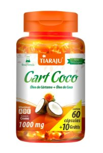 Cart Coco - 60+10 cápsulas - Tiaraju