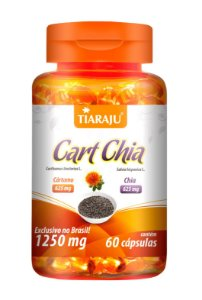 Cart Chia - 60 cápsulas - Tiaraju