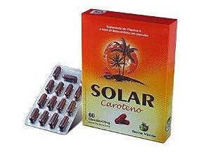 Solar Caroteno - 60 cápsulas - Terra Verde