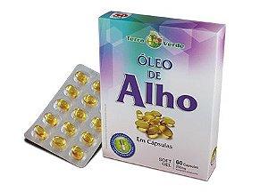 Óleo de Alho - 60 cápsulas - Terra Verde