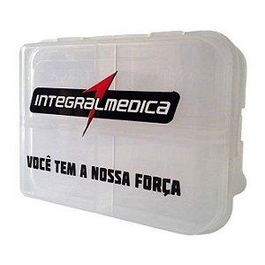 Porta comprimidos - 4 compartimentos - Integralmédica
