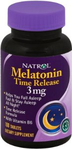 Melatonin Time Release 3 mg - 100 tabletes - Natrol