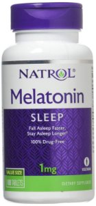 Melatonin 1 mg - 180 tabletes - Natrol