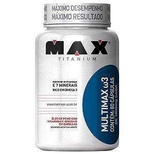 Multimax ω3 - 30 cápsulas - Max Titanium