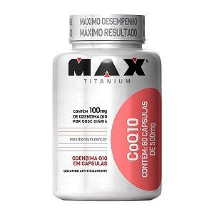 CoQ10 Coenzima - 60 cápsulas - Max Titanium
