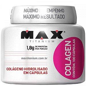 Colagen - 100 cápsulas - Max Titanium