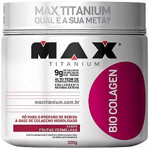 Bio Colagen - 300g - Frutas vermelhas - Max Titanium
