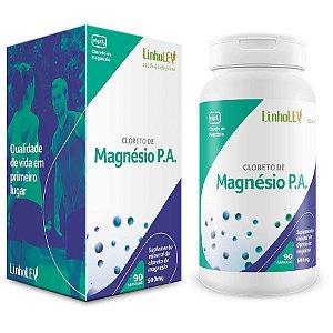Cloreto de Magnésio P.A. - 90 cápsulas - LinhoLEV