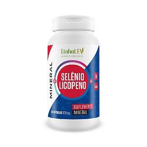 Selênio + Licopeno - 60 cápsulas - LinhoLEV
