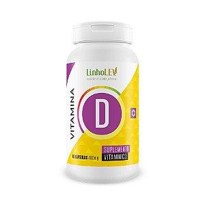 Vitamina D - 60 cápsulas - LinhoLEV