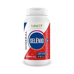 Selênio - 60 cápsulas - LinhoLEV