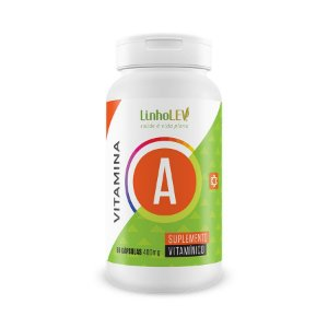Vitamina A - 60 cápsulas - LinhoLEV