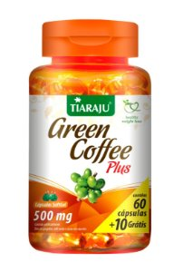 Green Coffee Plus - 60+10 cápsulas - Tiaraju