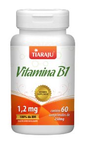 Vitamina B1 - 60 comprimidos - Tiaraju