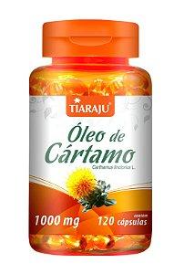 Óleo de Cártamo 1000mg - 120 cápsulas - Tiaraju