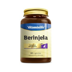Berinjela - 60 cápsulas - Vitaminlife