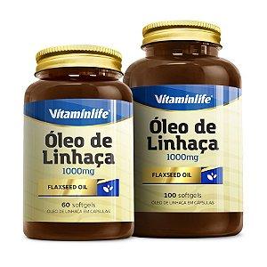 Óleo de Linhaça - 100 cápsulas - Vitaminlife