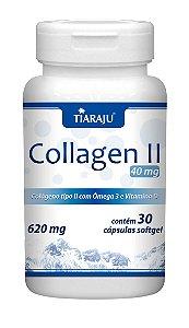 Collagen II 40mg - 30 cápsulas - Tiaraju