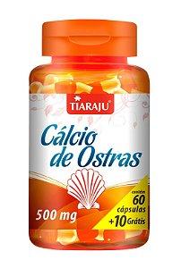 Cálcio de Ostras - 60+10 cápsulas - Tiaraju