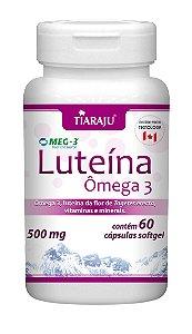 Luteína Ômega 3 - 60 cápsulas - Tiaraju